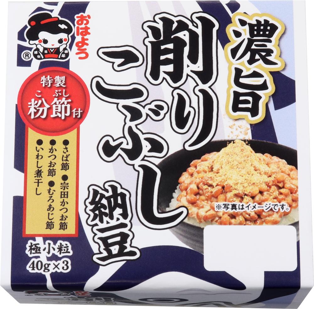 濃旨削りこぶし納豆ミニ3/12個入