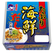 たっぷり海鮮だしたれ納豆極小粒ミニ3